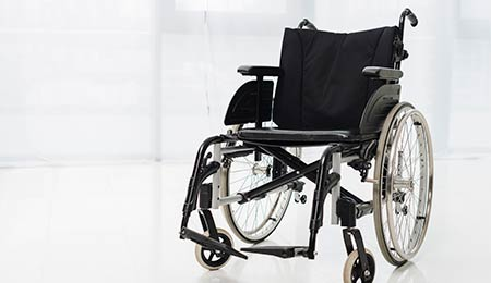 Photography of a wheelchair