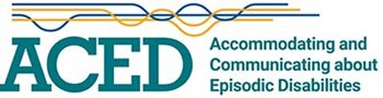 Logo of ACED - Accommodating and Communicating about Episodic Disabilities
