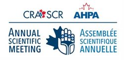 Logo for the Annual Scientif Meeting with the CRA SCR and AHPA